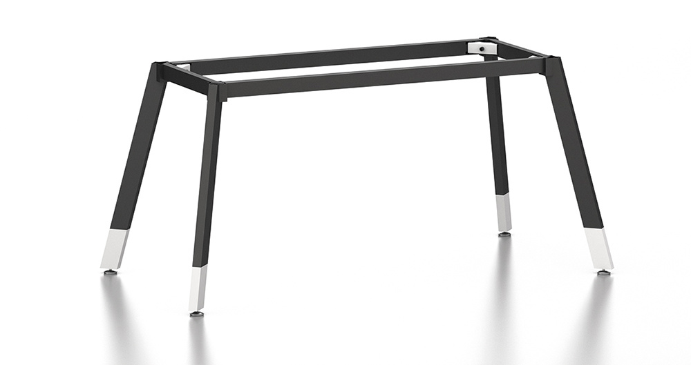 Black Customized Metal Steel Office Staff Desk Frame with Ht69-1