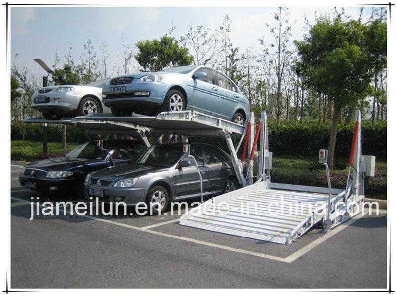 Two Post Slant Parking Lift/Tilting Park Lift Equipment