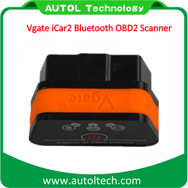 Newest Original Vgate Icar 2 Bluetooth/ Obdii Super Elm327 Icar2 Bluetooth Car Diagnostic Interface for Android OBD2 Code Scanner