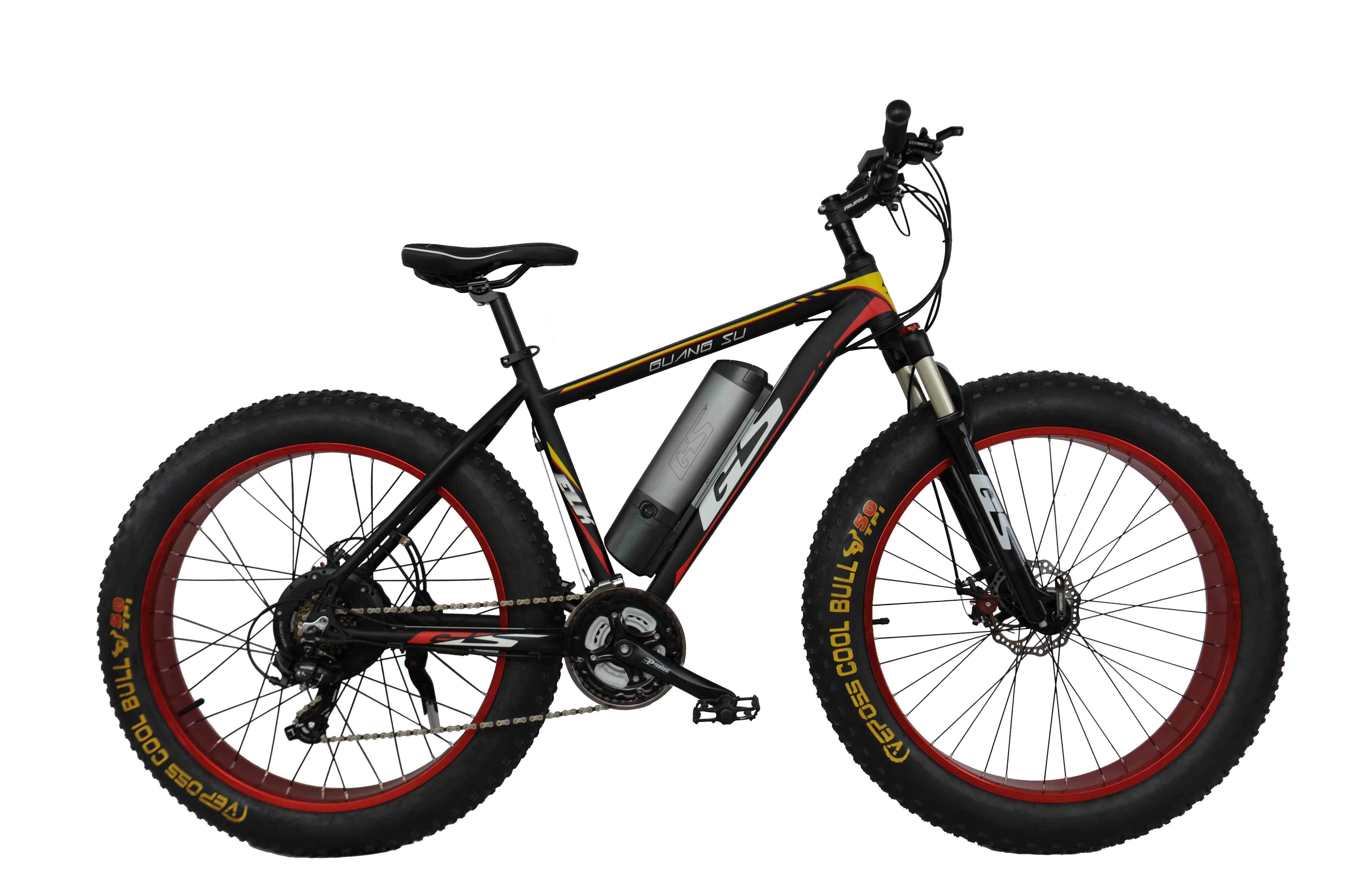 GS-009 36V 350W Fat Tyre Mountain Electric Bicycle