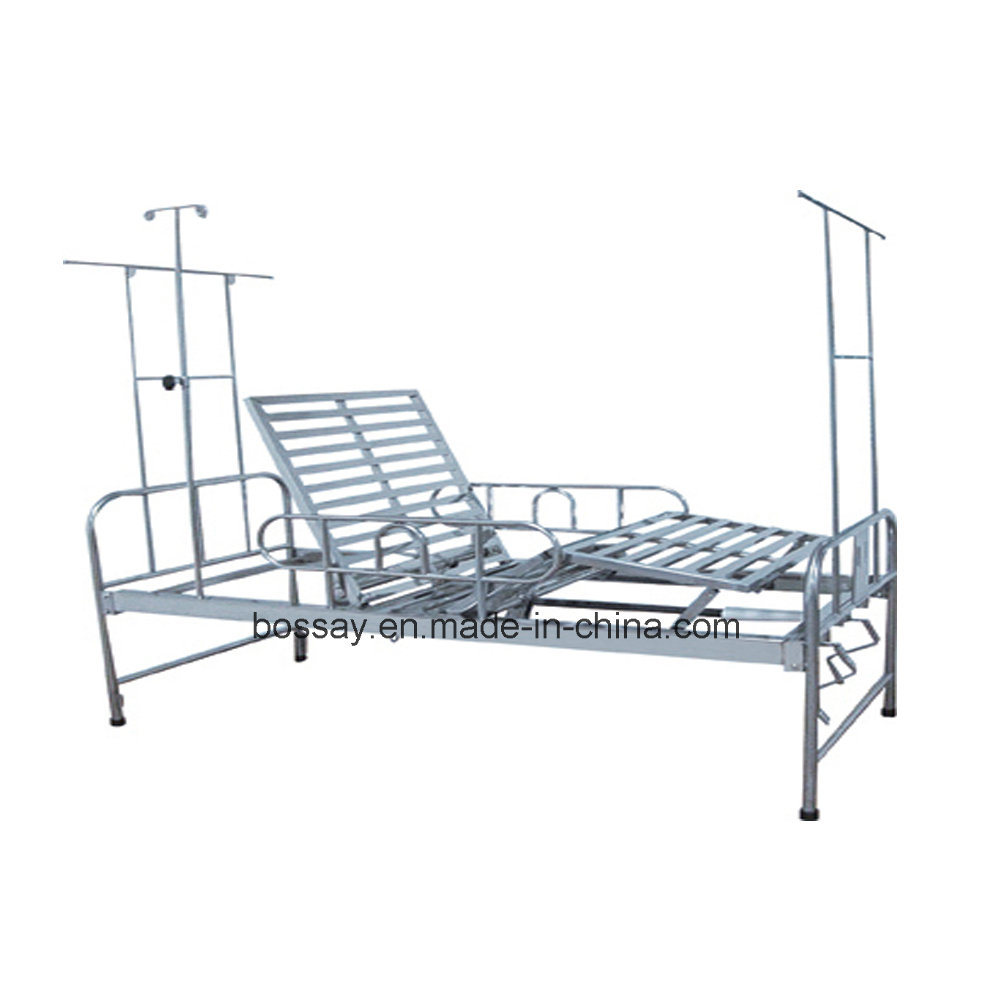 Stainless Steel Hospital Bed with Ce Certificated