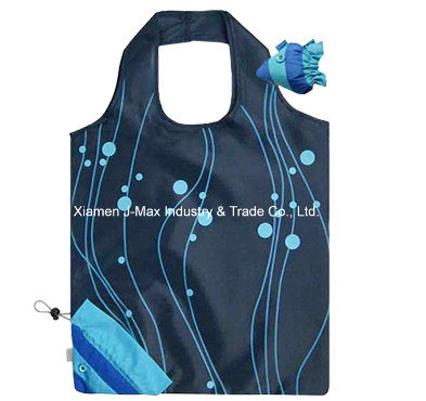Foldable Shopper Bag, Gifts, Promotion, Accessories & Decoration, Grocery Bags, Animal Fish Style, Reusable, Lightweight, Tote Bag