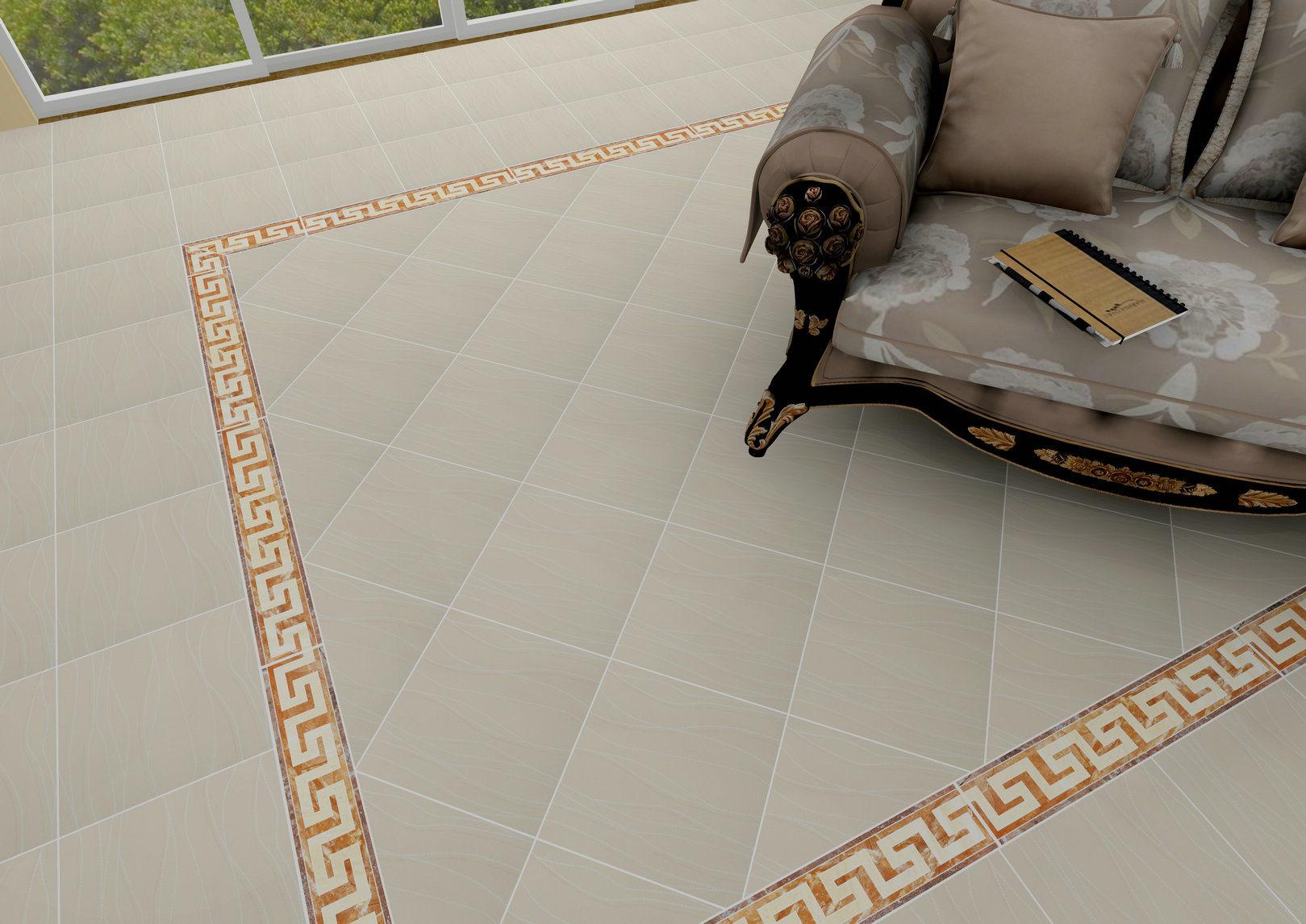 Non slip coating for ceramic tiles