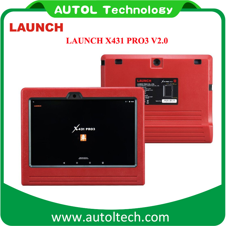Launch X431 PRO3 2.0 Support WiFi/Bluetooth Upgrade Online X-431 PRO3