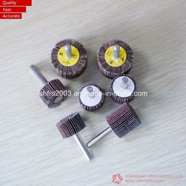 50*25*6mm, P60, Cotton Polishing Tools Abrasive Tools Flap Wheel for Metal
