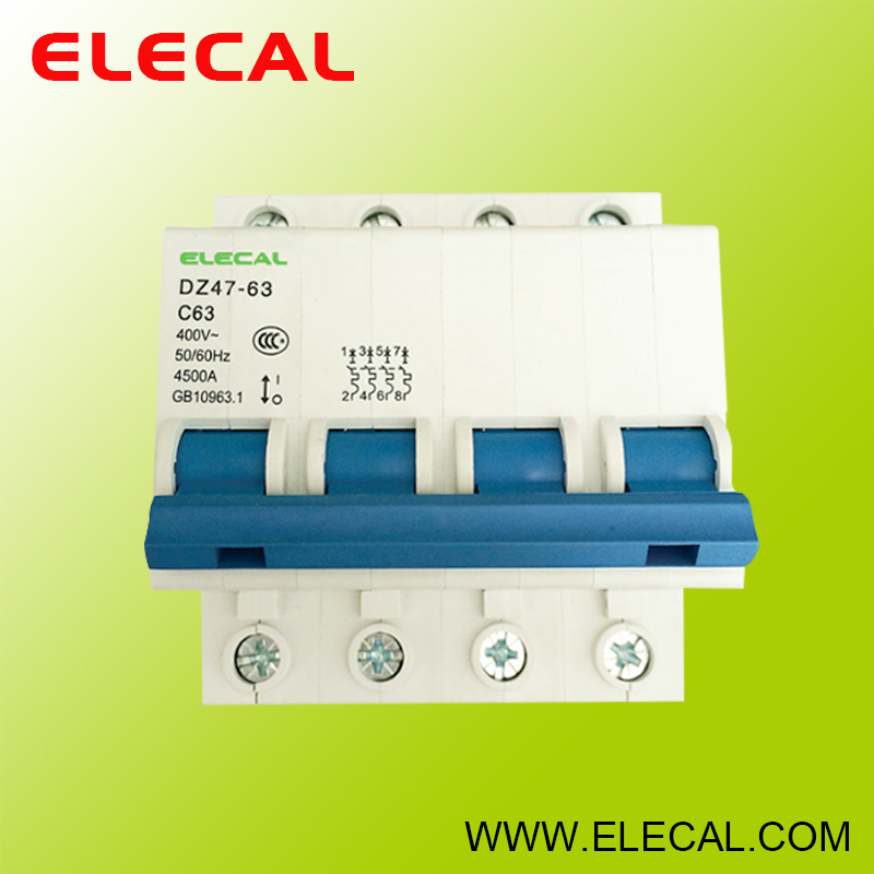 MCB Circuit Breaker (DZ47-63 4P)