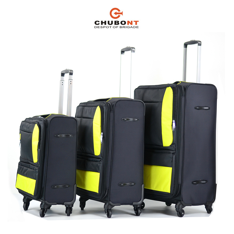 Chubont High Qualilty Fashion Nylon Soft Trolleycase