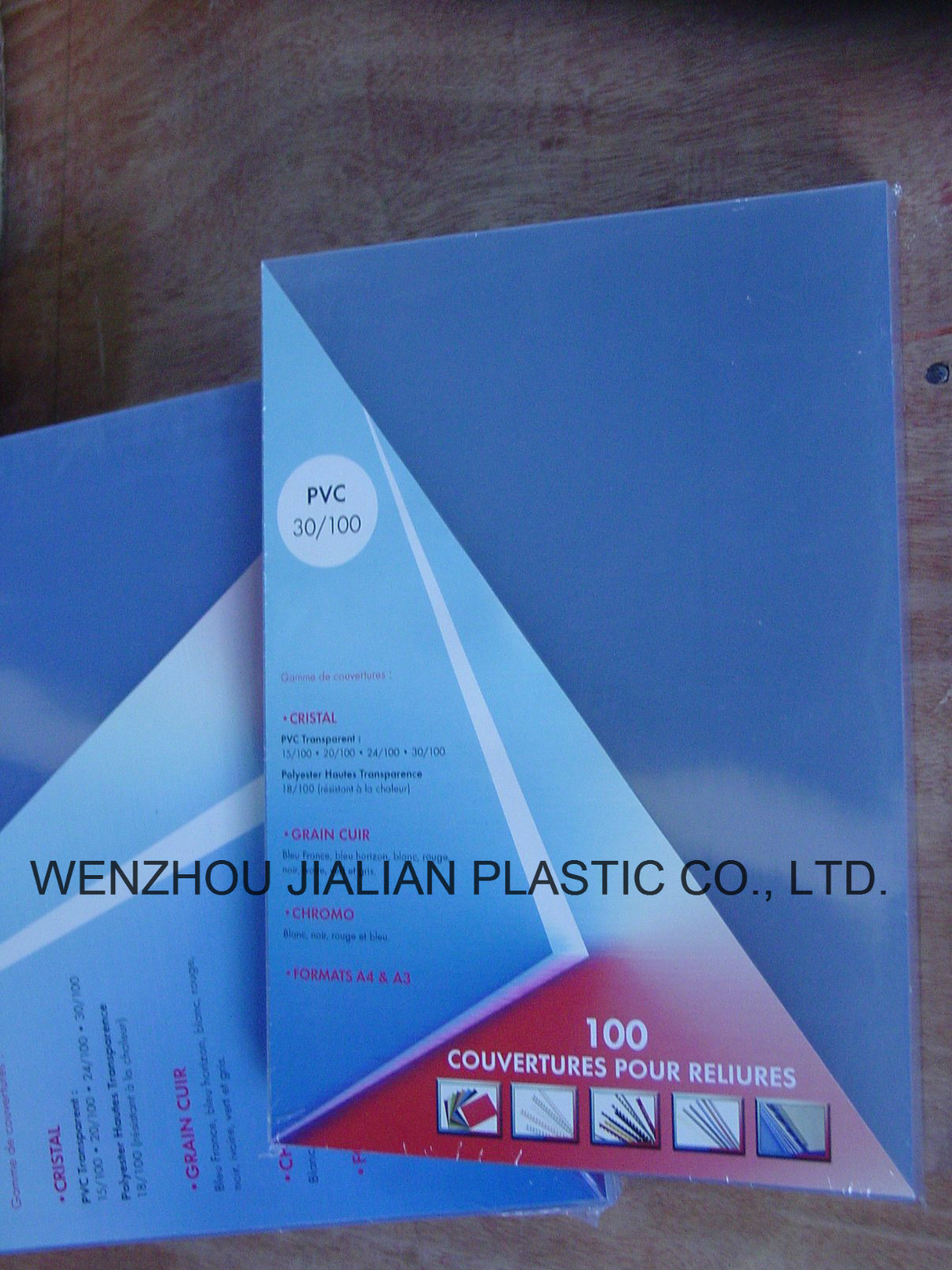 Rigid PVC Sheet for Binding Cover of A4 / A3 or Customized