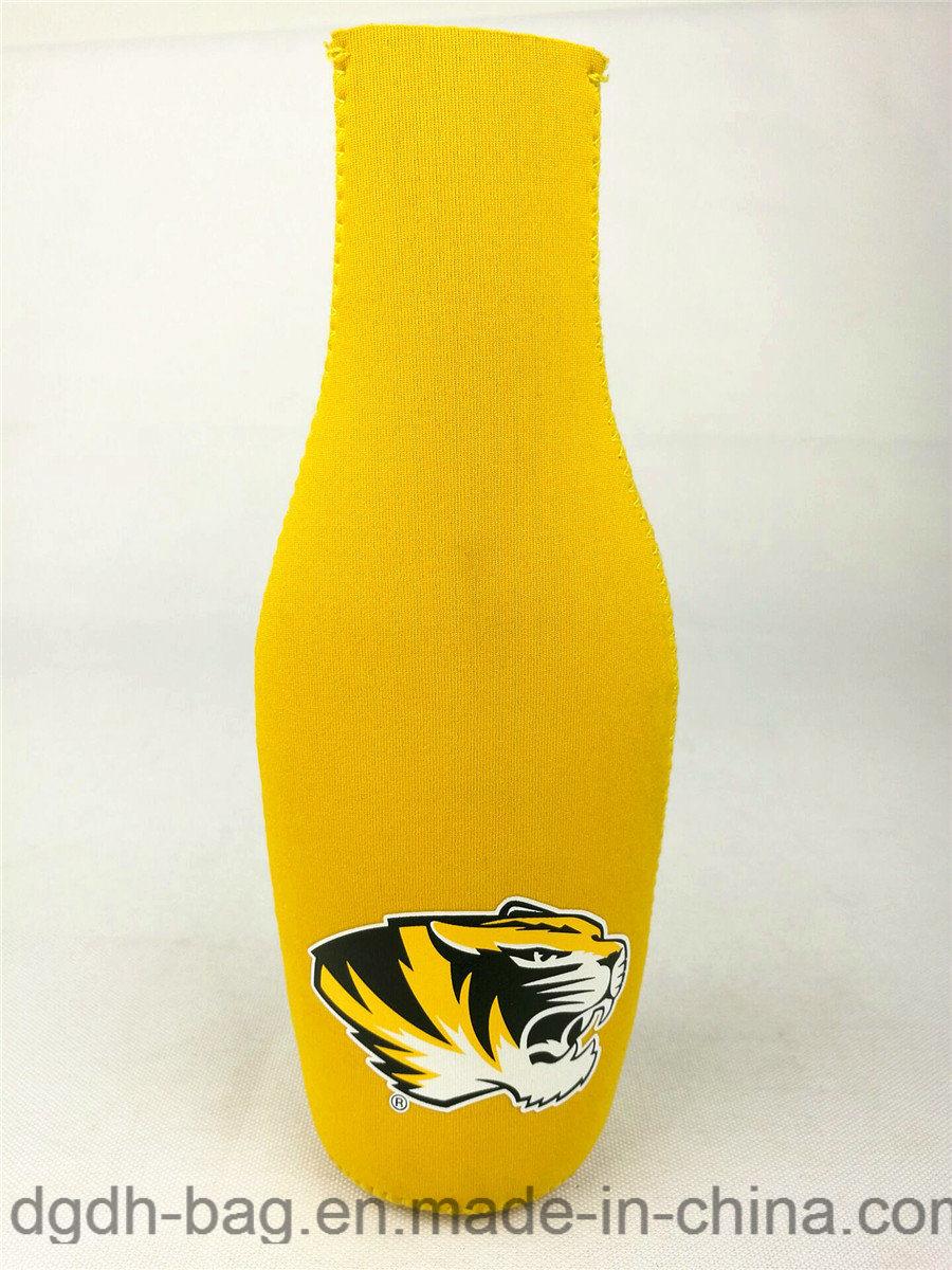 Hot Sale Neoprene Single Beer Bottle Can Cooler /Bottle Holder