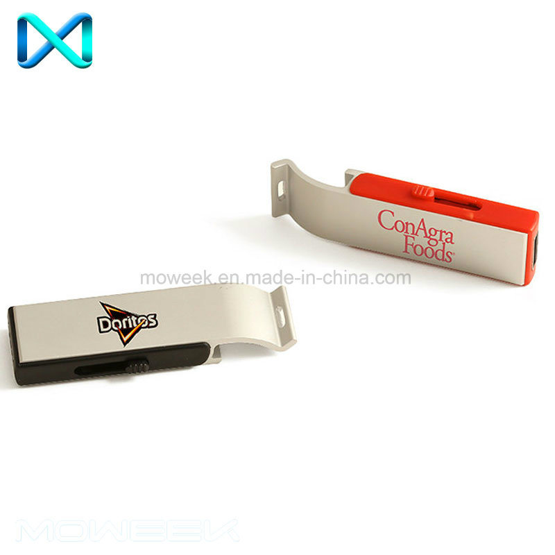 Creative Retractable Bottle Opener USB Stick Flash Drive