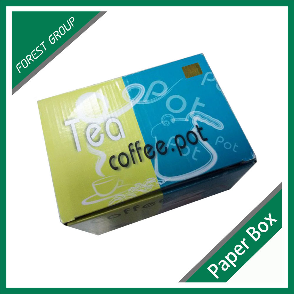 Elegant Customized Printing Paper Tea Box for Tea Packaging