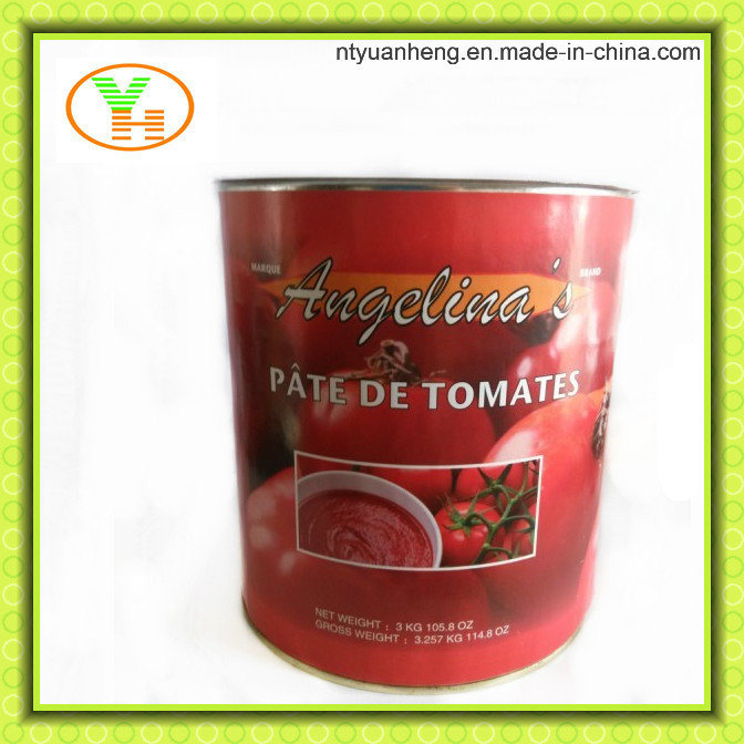 Manufacturer Chinese Supplier Canned Tomato Paste Food