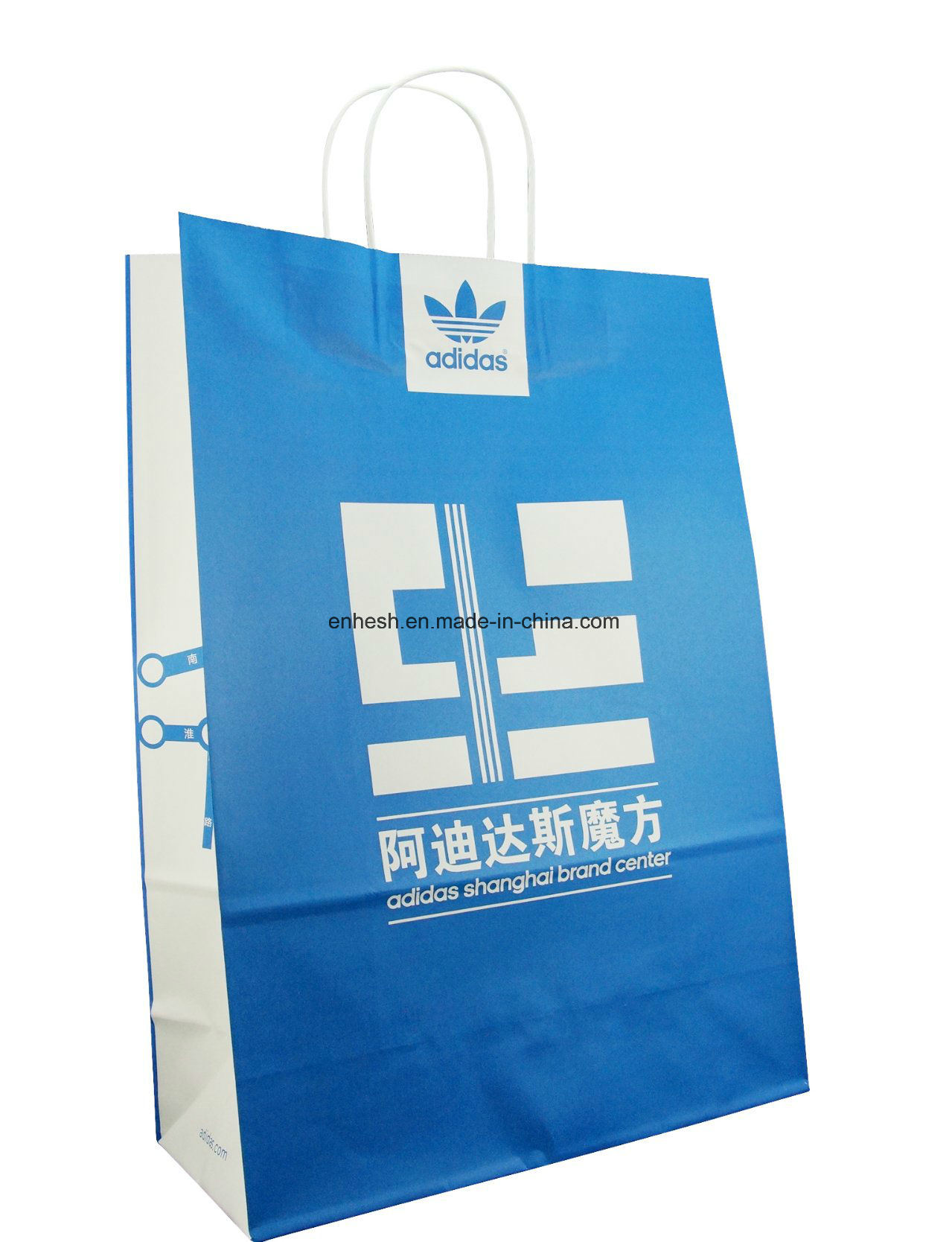 Printing Cheap Brown Kraft Paper Carrier Bags Paper Bag