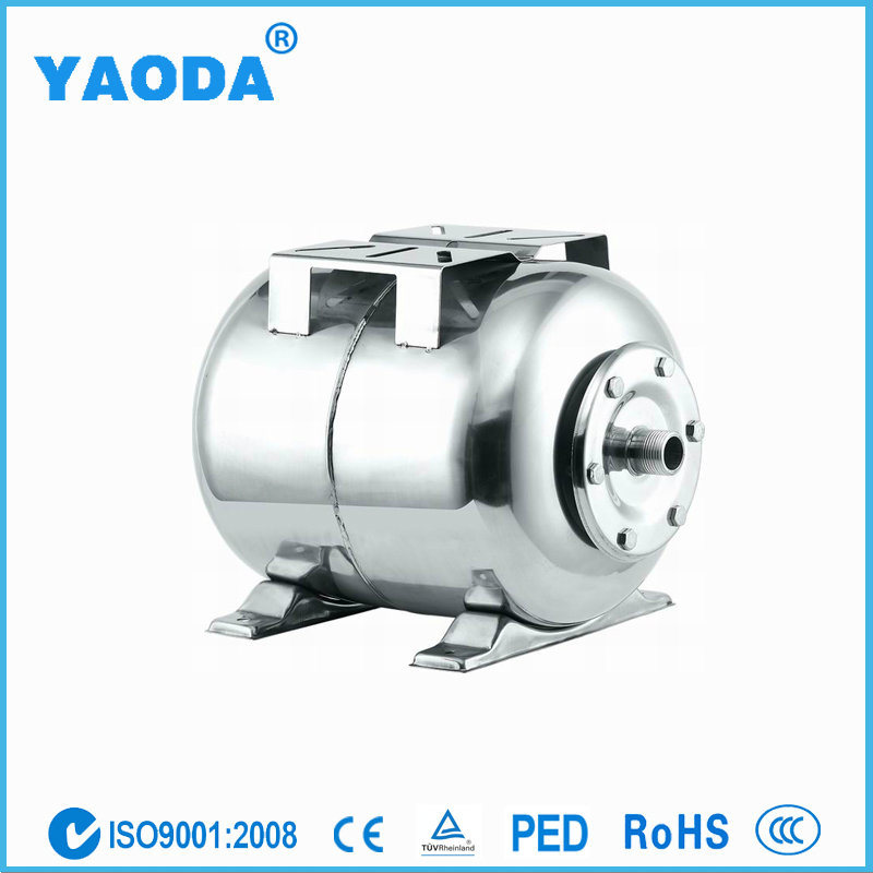 24 Liters Stainless Steel Pressure Tank for Water Pump