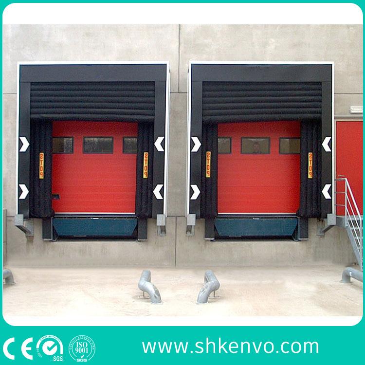 Mechanical Retractable Loading Dock Door Seal Shelter