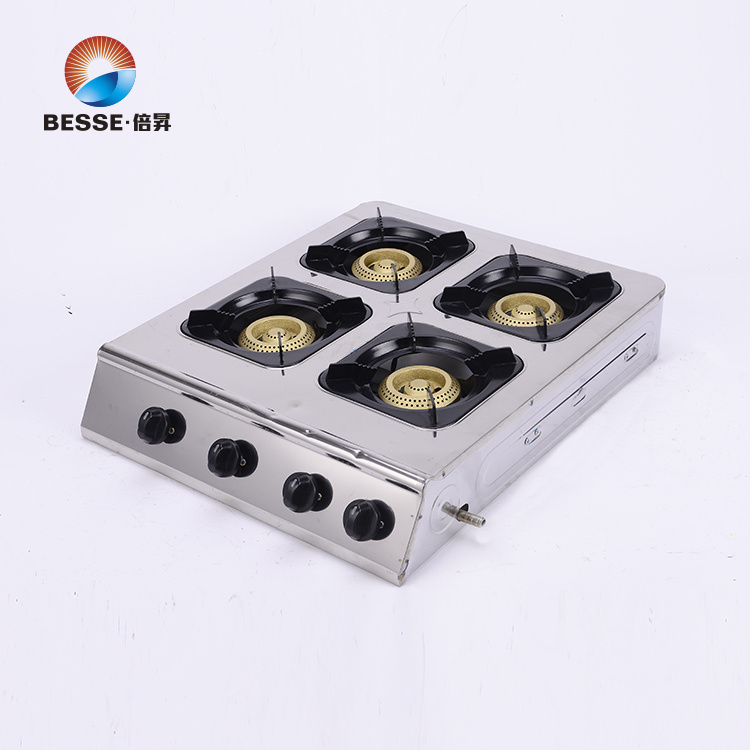 Deaktop Gas Stove, Four Burners