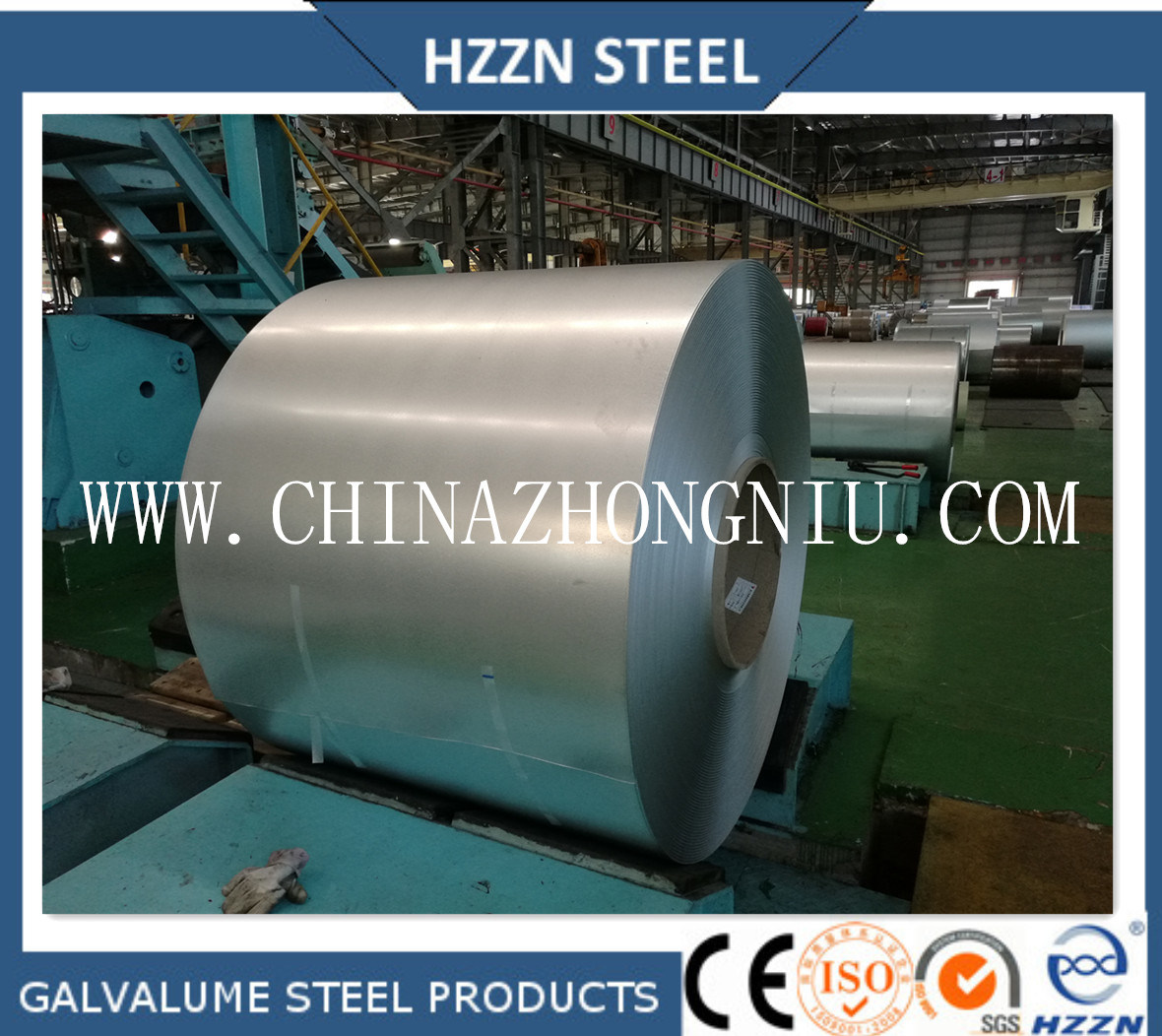Galvalume Steel Roofing Sheets in Coil