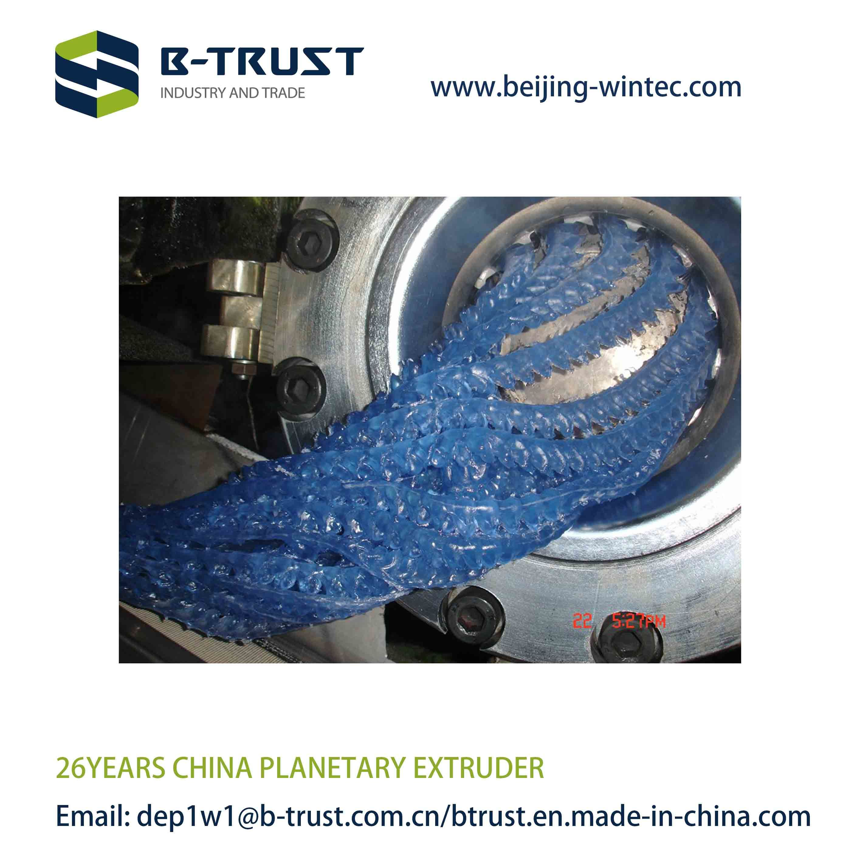 Planetary Roller Extruder Machine with Best Price