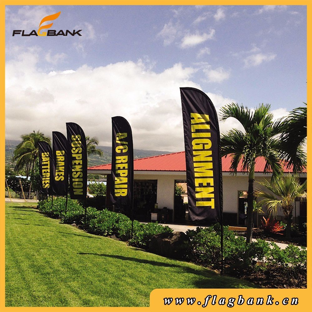 Advertising Aluminium Digital Printing Feather Flags and Banners