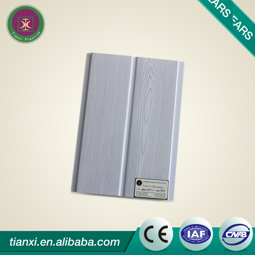 Building Materials PVC Wall Panels with 250mm Width