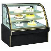 Cheering Display Refrigerator Double Arc Cake Showcase