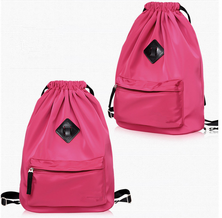 Promotion Water-Proof Nylon Drawstring Backpack Bag