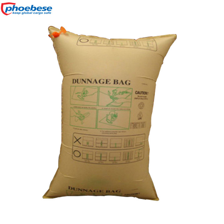 Kraft Paper Dunnage Bag Air Packaging for Safe Delivery