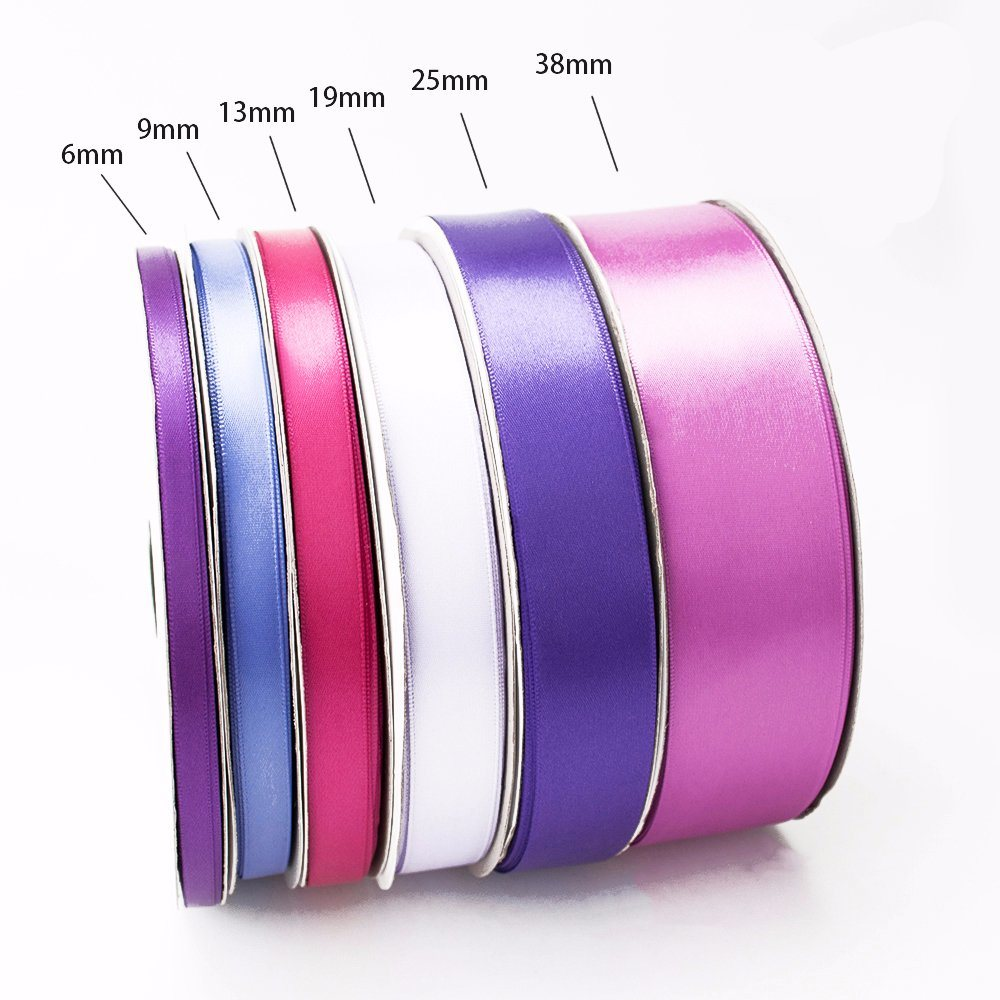 Single/Double Faced Polyester Printed Logo Organza/Grosgrain/Satin Ribbon for Sale
