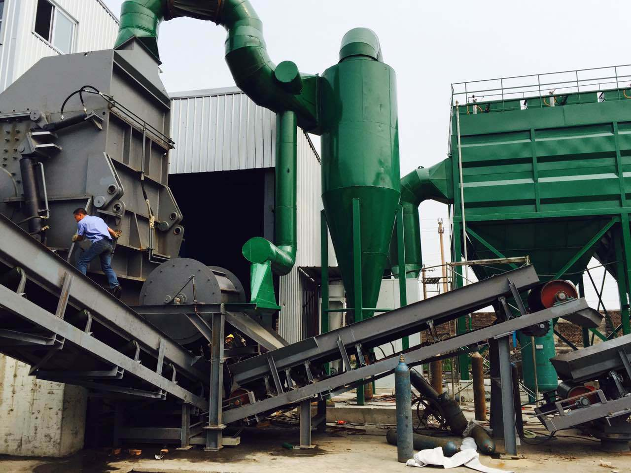 Psx-4500 Industrial Metal Shredder
