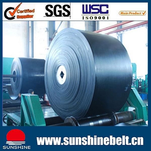Ep Fabric Rubber Conveyor Belt Type 315/3 500/3 630/4