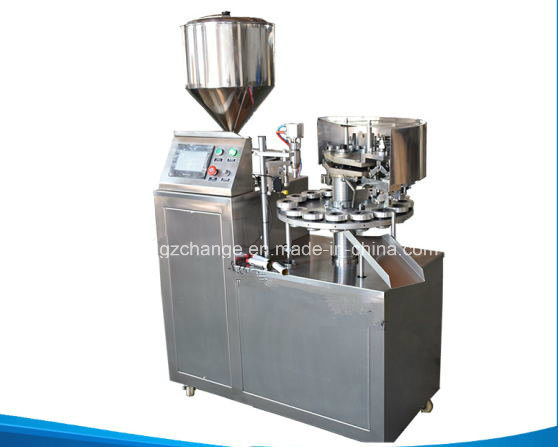 Semi Auto Tube Fill and Seal Machine for Various Paste Cream Ointment