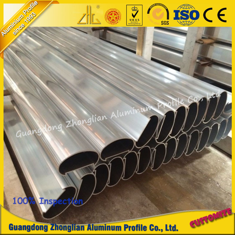 Customized Aluminium Extrusion Profile Handrail for Balcony in Construction