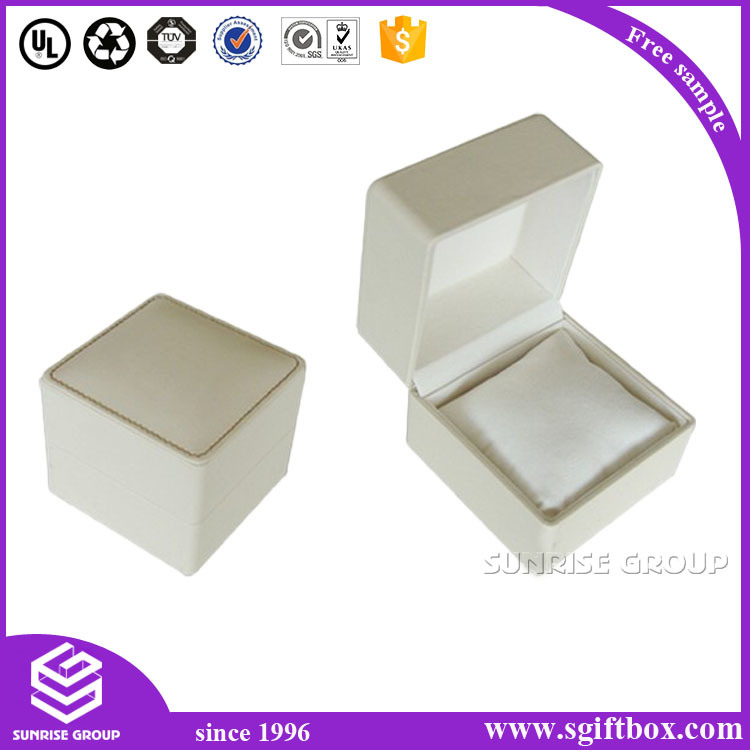 High-End Custom Gift Velet Leather Perper Jewelry Gift Box