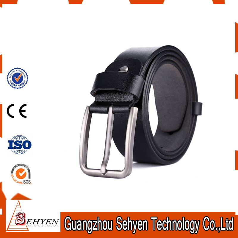 Factory Quality Formal Business Competitive Price Click PU Leather Belts