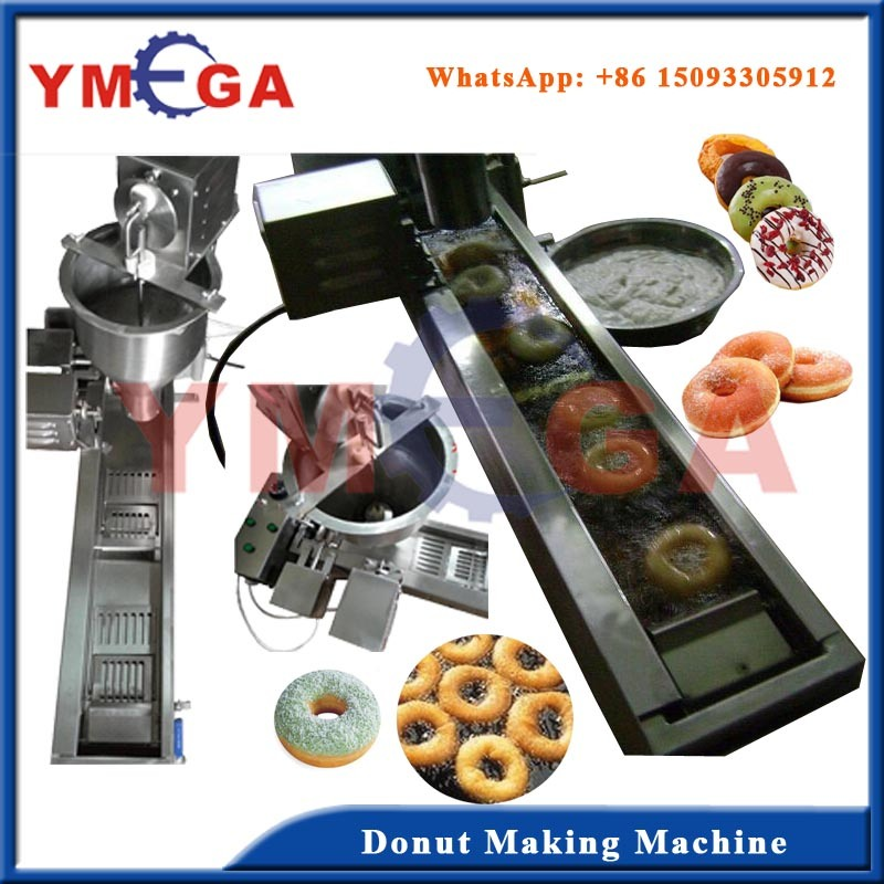 Automatic Working and Operation Food Equipment Frying Donut Machine