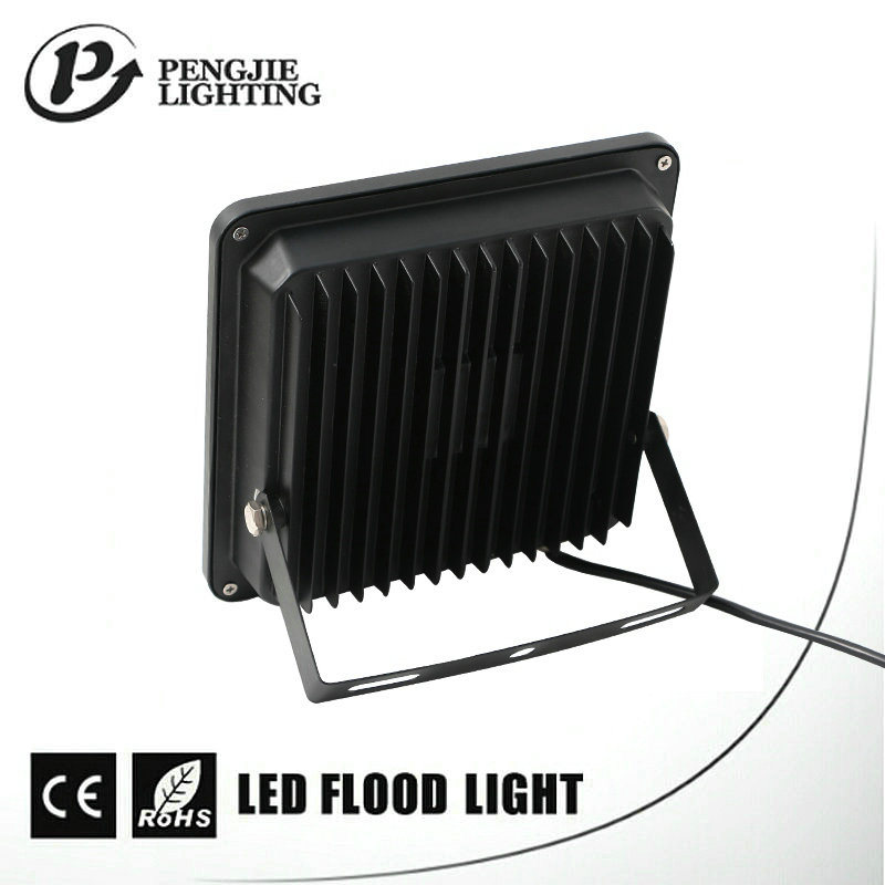 Power Saving Sanan Square 20W 120° Beam Angle Aluminium Flood Lighting LED