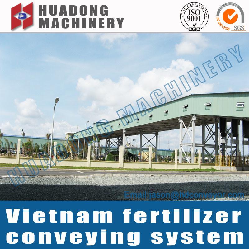 Long Distance Belt Conveyor for Cement Plant