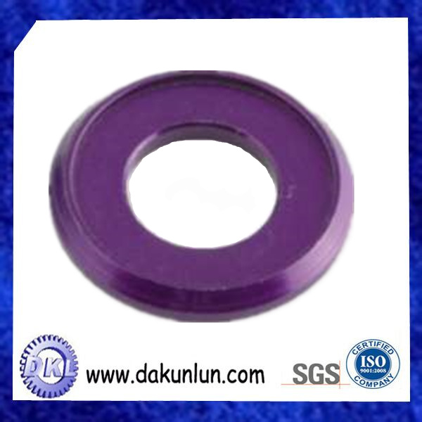 High Precision CNC Turning Aluminium Washer Genuine Parts