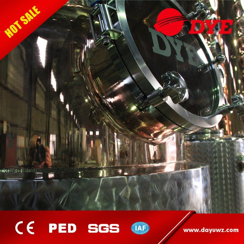 Made in China 1000L Industrial Steam Vacuum Alcohol Distillation Equipment