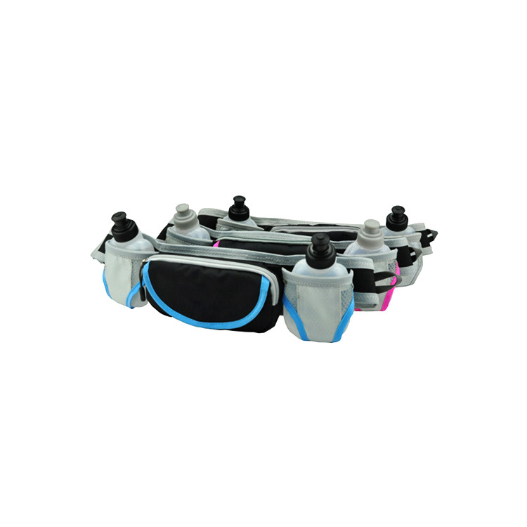 Nylon Hydration Waist Pack Fitness Running Belt Without Water Bottle