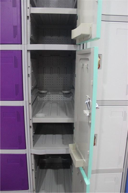 Waterproof Locker for Bathroom with 3 Doors