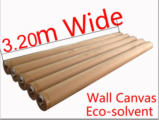 Super Wide Eco Solvent Polyester Inkjet Wall Canvas