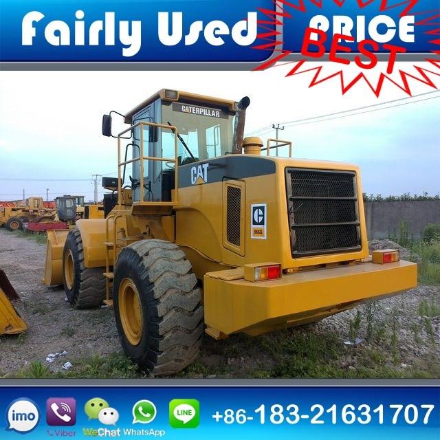 Fairly Used Cat 966g Wheel Loader of Cat 966g Loader