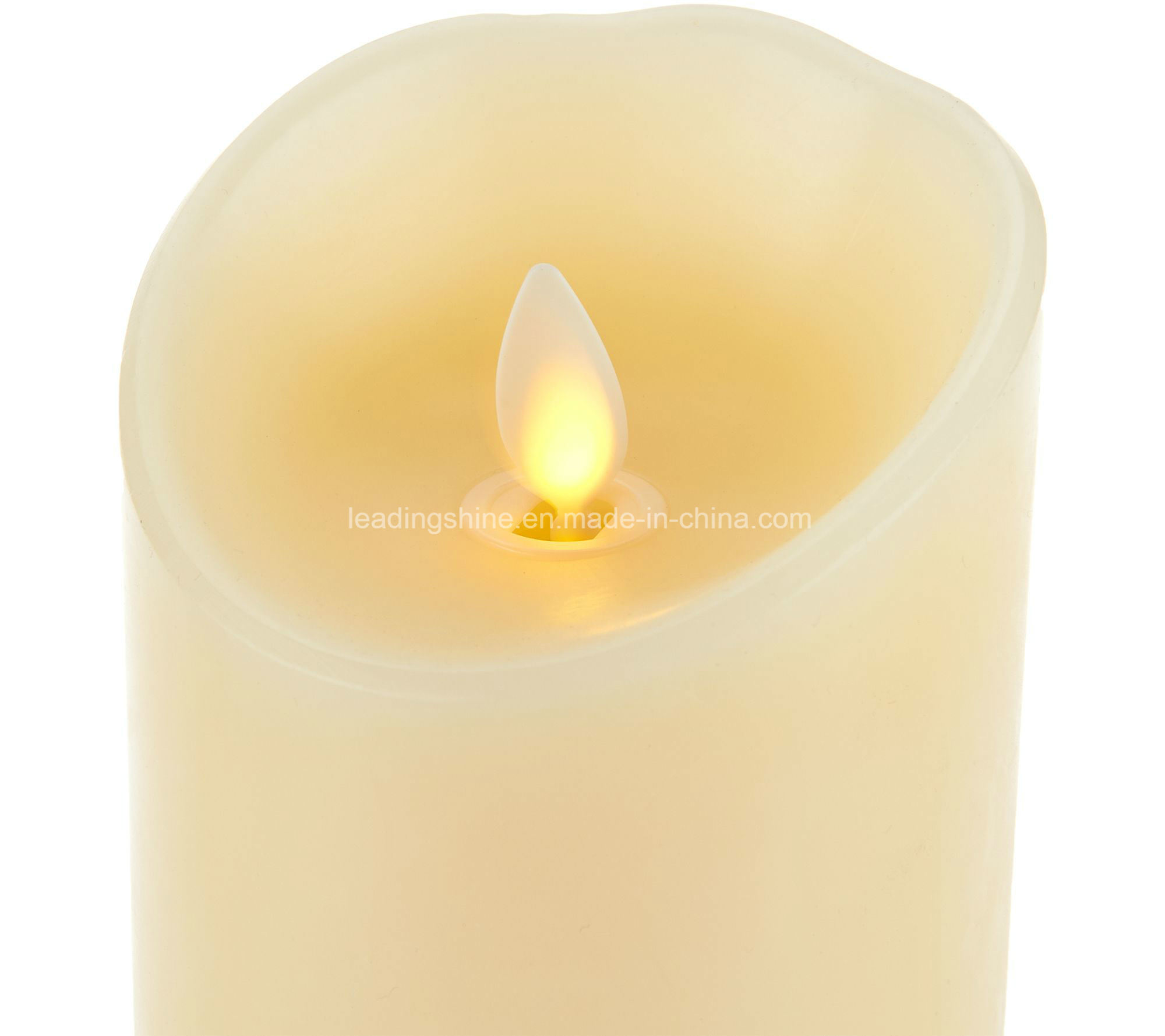 Pure Wax Remote Control Flameless Flickering Candle Light