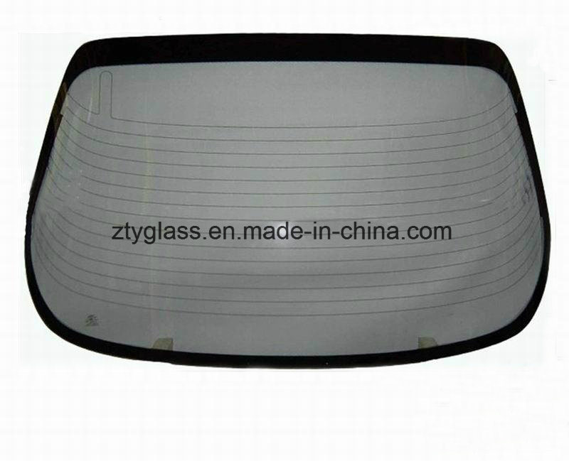 Car Rear Windshield Tempered Glass for Toyota