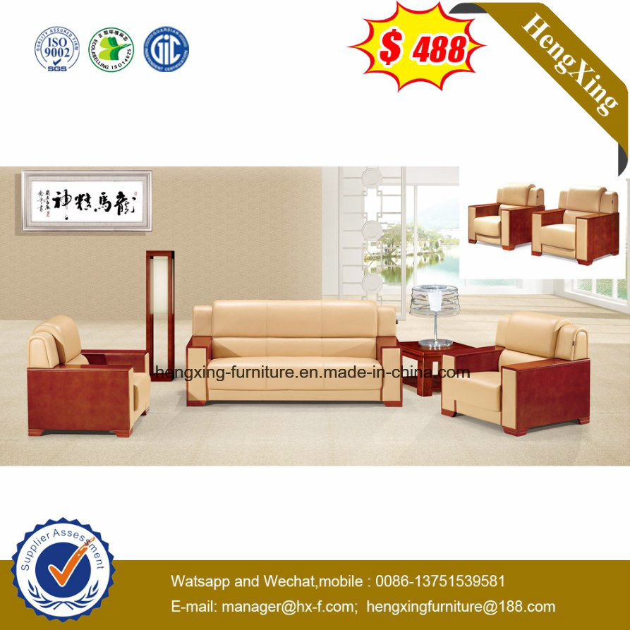 Genuine Leather Office Sofa, Office Furniture, Leisure Sofa (HX-CS031)