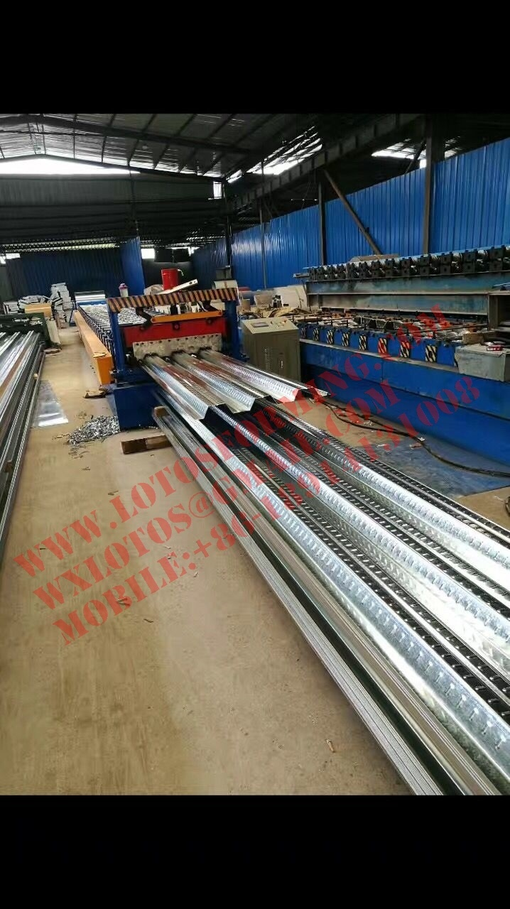 New Design Deck Floor Forming Machine