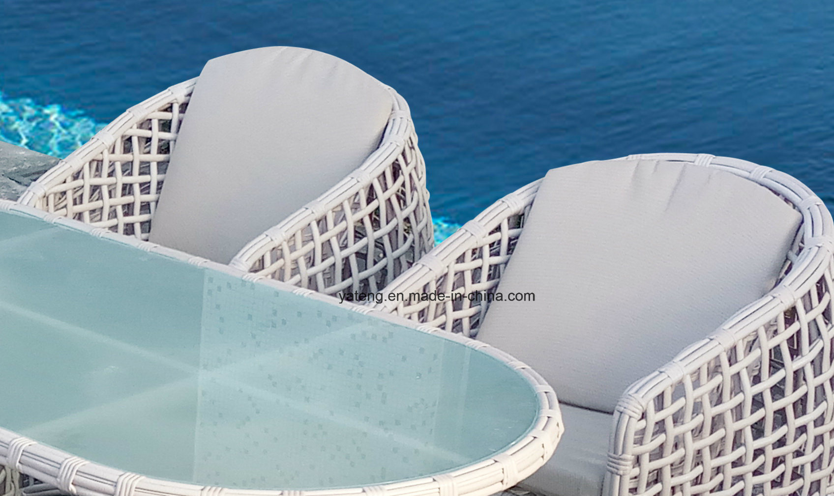 Popular New design Wicker Outdoor Garaden Dining Chair Using for Hotel with Top Quality (YT1069)