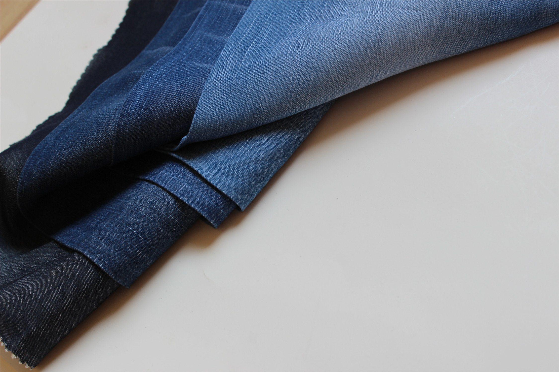 100%Tencel Indigo Denim For Garments