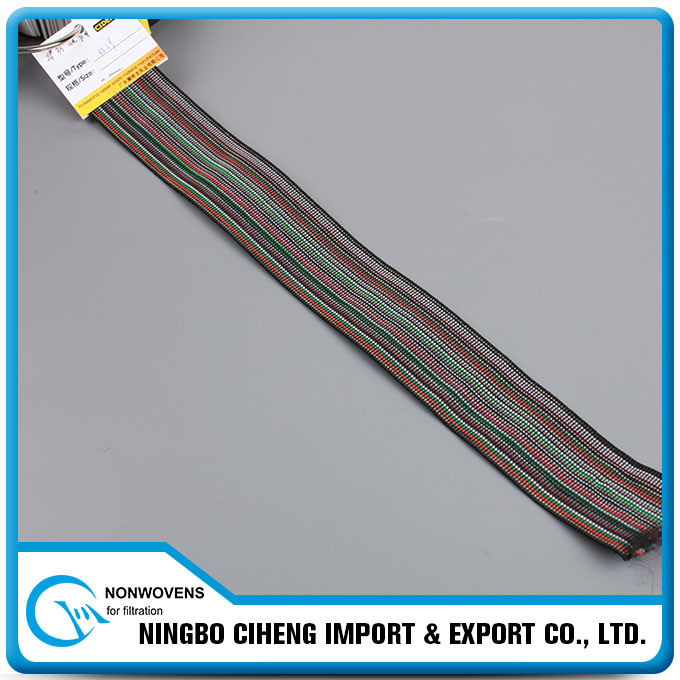 Large Band Customized Polyester Jacquard Wide Sofa Elastic Webbing